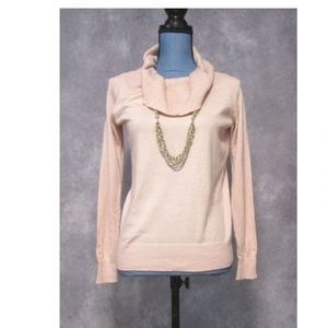 NWT Worthington Rosewater Pink Cowl Neck Sweater